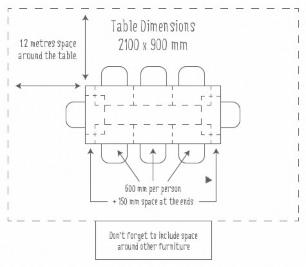 Inspirational Winsome Size 12 Dimensions 1 Fine Design Average Dining Room Table throughout Average Dining Room Size
