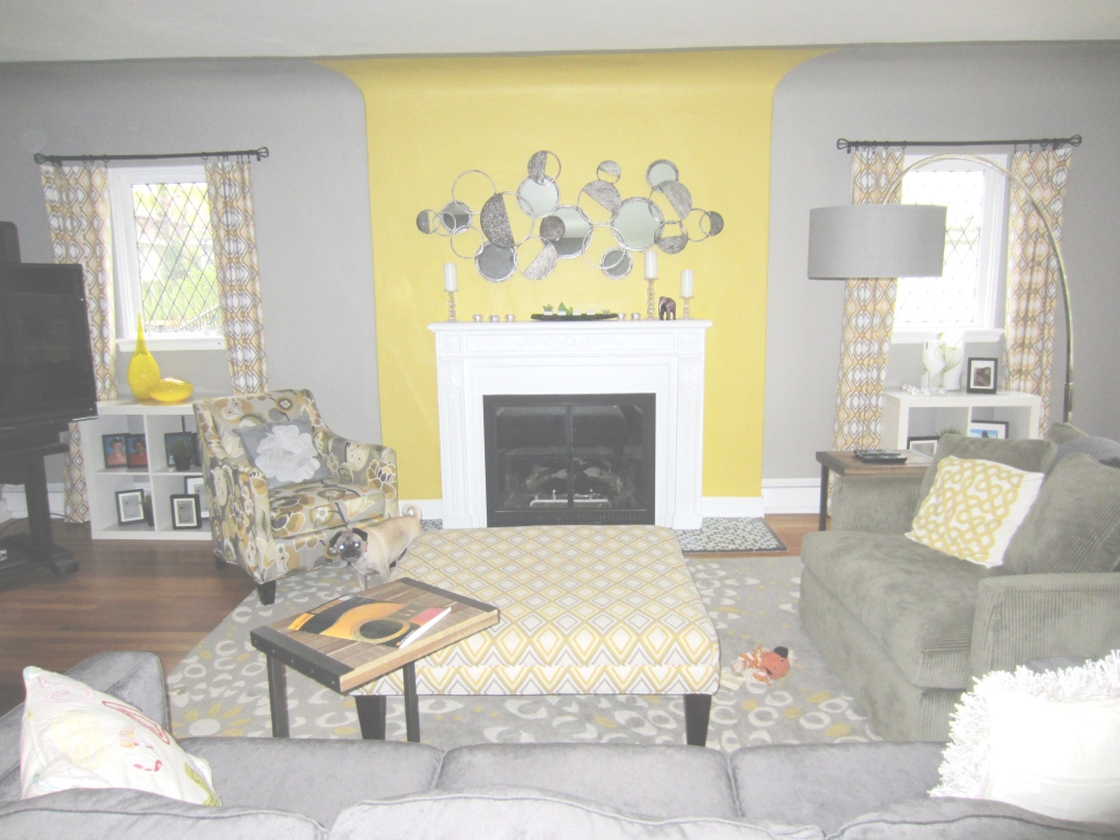 Inspirational Yellow And Grey Living Roombeautiful! | Interior Design Portfolio within Yellow And Gray Living Room