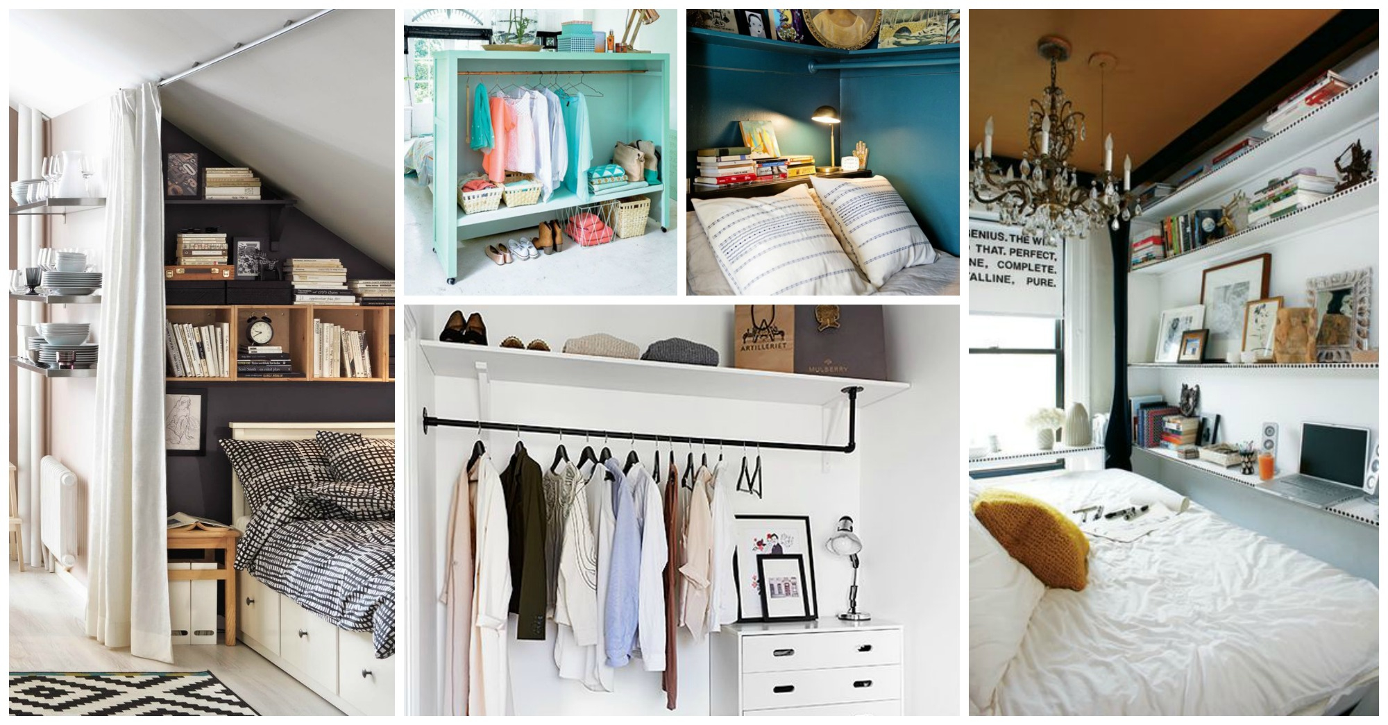 Lovely 10 Smart Bedroom Hacks For Small Bedrooms intended for Small Bedroom Hacks