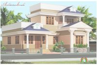 Lovely 1000 Sq Ft Kerala Style House Plan – Architecture Kerala in Kerala Style House Plans With Cost