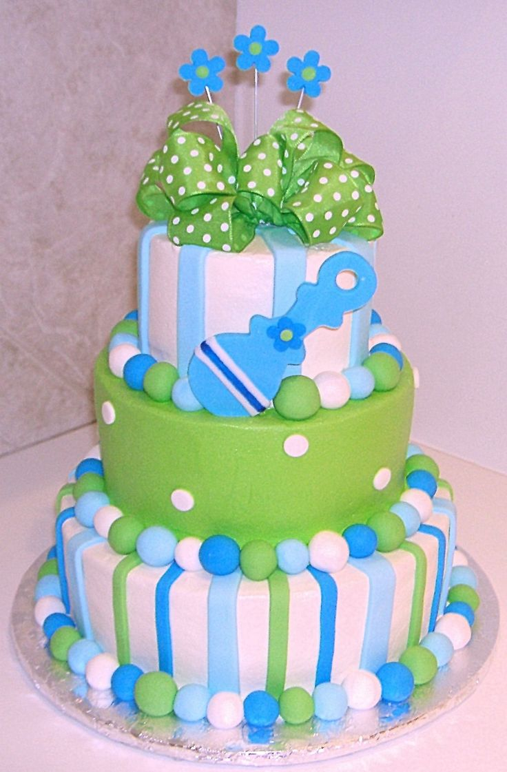 Lovely 11 Green And Blue For Boy Baby Shower Cakes Photo - Green And Brown with regard to Beautiful Blue And Green Baby Shower