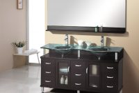 Lovely 12 Best Double Sink Vanity Units | Qosy within Unique Bathroom Double Sink Cabinets