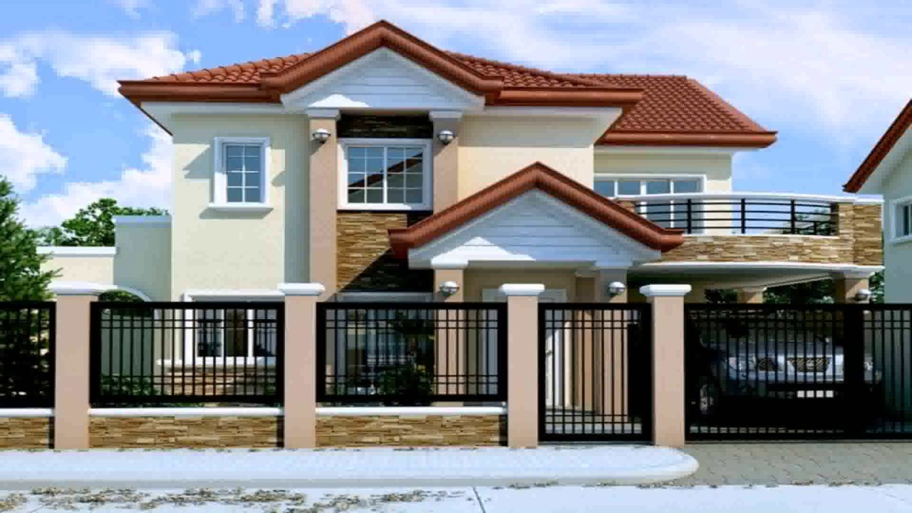 Lovely 2 Storey House Design With Floor Plan In The Philippines - Youtube pertaining to Unique House Design With Floor Plan Philippines