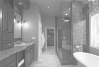 Lovely 20 Bewitching Modern Black Bathrooms Ideas In Impressive Black with Black Bathroom Ideas
