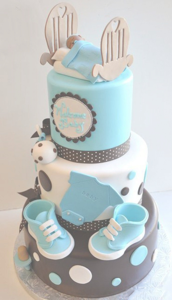 Lovely 20 Deliciosos Y Divertidos Pasteles Para Un Baby Shower intended for Fresh Pasteles Para Baby Shower Niña
