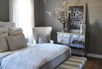Lovely 23 Best Grey Bedroom Ideas And Designs For 2018 within Inspirational Bedroom Gray
