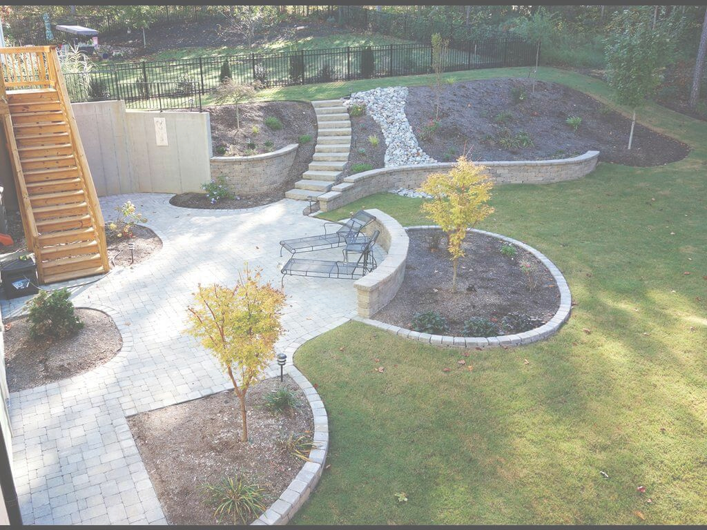 Lovely 28) Terraced Yard Cary 4 (Copy) | Renz Landscapes | Cary, Nc with Terraced Backyard