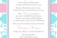 Lovely 2Nd Baby Shower Quotes With Second Baby Shower No Gifts Plus Second inside Good quality Baby Shower For 2Nd Baby