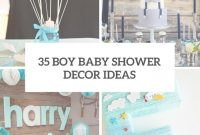 Lovely 35 Boy Baby Shower Decorations That Are Worth Trying – Digsdigs with Popular Baby Shower Themes