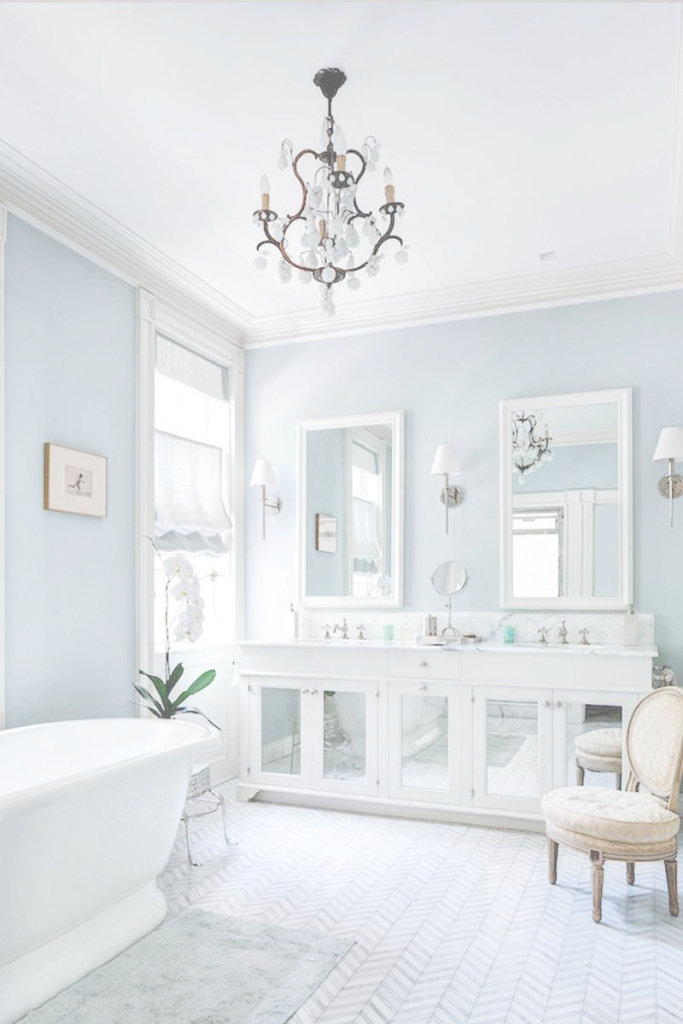 Lovely 5 Essentials For A Dreamy And Airy Bathroom | Pinterest | Essentials inside Blue And Gray Bathroom