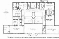 Lovely 50 Best Of Gallery Spanish Home Plans Floor And House Center intended for Hacienda House Plans Center Courtyard Image