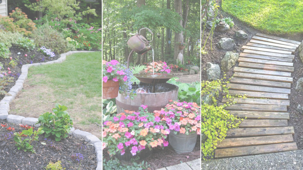 Lovely 8 Creative Backyard Garden Ideas On A Budget | Home Design Interior with regard to Good quality Creative Backyard Ideas