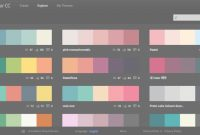 Lovely Alicia Kan | How To Pick Colors And Create Palettes Like A Pro with Color Palette Adobe