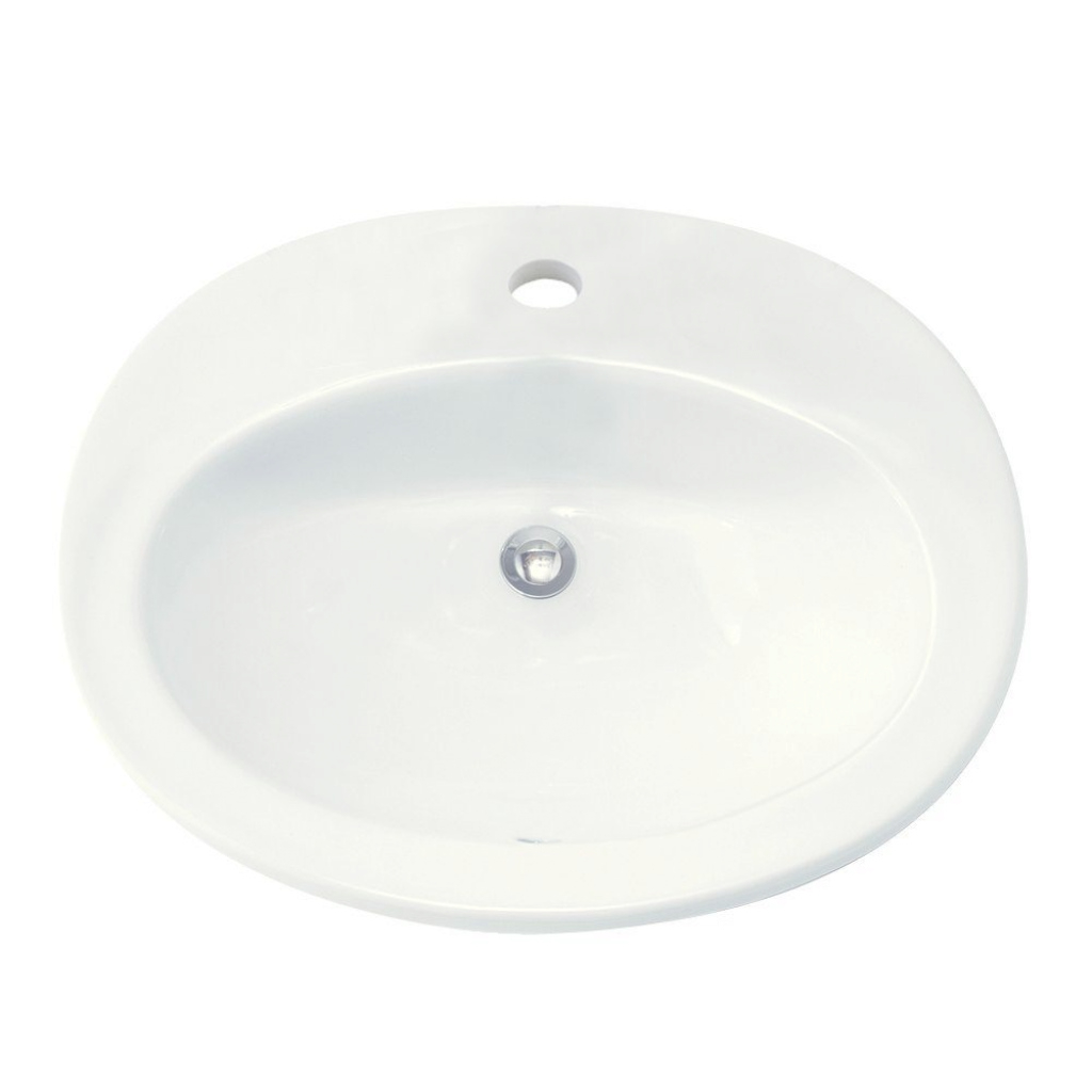 Lovely American Standard Piazza Self-Rimming Bathroom Sink In White inside Large Bathroom Sinks