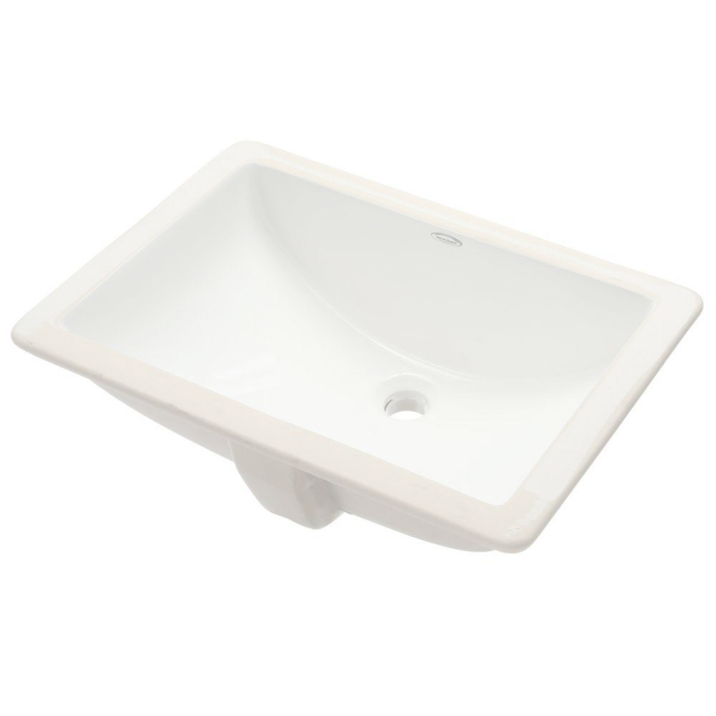 Lovely American Standard Studio Rectangular Undermounted Bathroom Sink In throughout Good quality Standard Bathroom Sink
