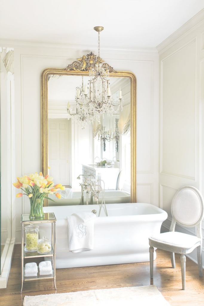 Lovely Antique Gold Bathroom Mirror • Bathroom Mirrors for Inspirational Gold Bathroom Mirror