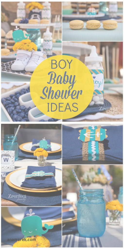 Lovely Baby Boy Baby Shower Colors Inspirational 71 Best Boy Baby Shower inside Review Boy Baby Shower Colors