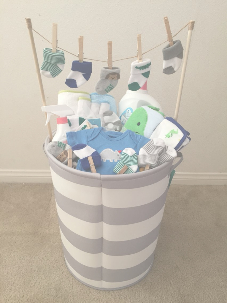 Lovely Baby Boy Baby Shower Gift! (Idea From My Mother-In-Law) | Things throughout Lovely Pinterest Baby Shower Gifts