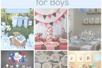 Lovely Baby Boy Baby Shower Theme Ideas | Omega-Center – Ideas For Baby with Inspirational Boy Baby Shower Theme Ideas