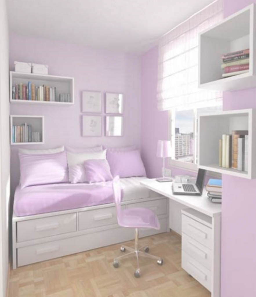 Lovely Baby Nursery ~ Agreeable Purple Bedroom Ideas For Small Rooms Visi with Small Teenage Girl Bedroom