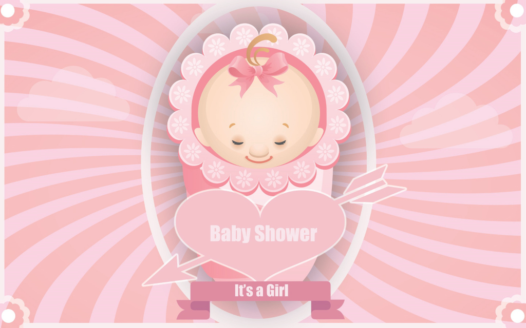 Lovely Baby Shower Baby Girl Wallpaper | Babies | Pinterest | Baby in Baby Shower Wallpaper