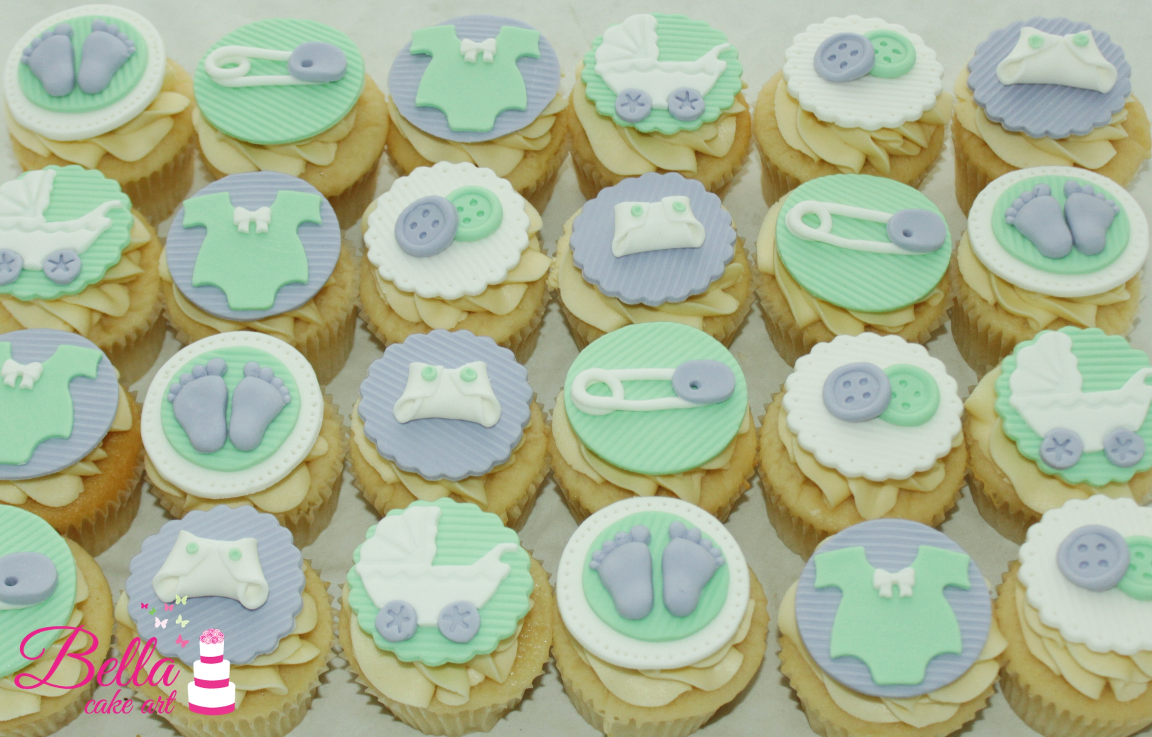 Lovely Baby Shower Cup Cakes - Baby Shower Ideas regarding Baby Shower Cupcakes