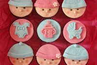 Lovely Baby Shower Cupcakes | Baking Mad throughout Baby Shower Cupcakes