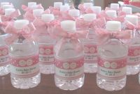 Lovely Baby Shower Favor Ideas Do It Yourself Easy Baby Shower Favors Baby within Homemade Baby Shower Decorations