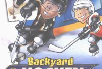 Lovely Backyard Hockey (2002) Windows Box Cover Art – Mobygames within Backyard Hockey
