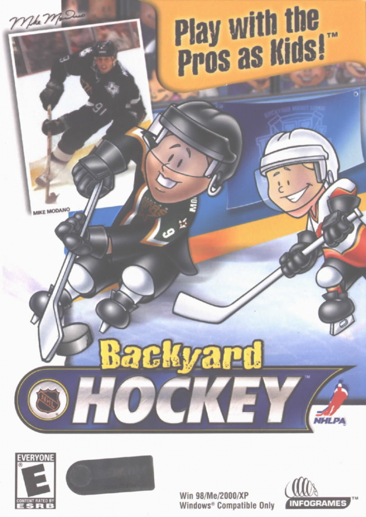 Lovely Backyard Hockey (2002) Windows Box Cover Art - Mobygames within Backyard Hockey