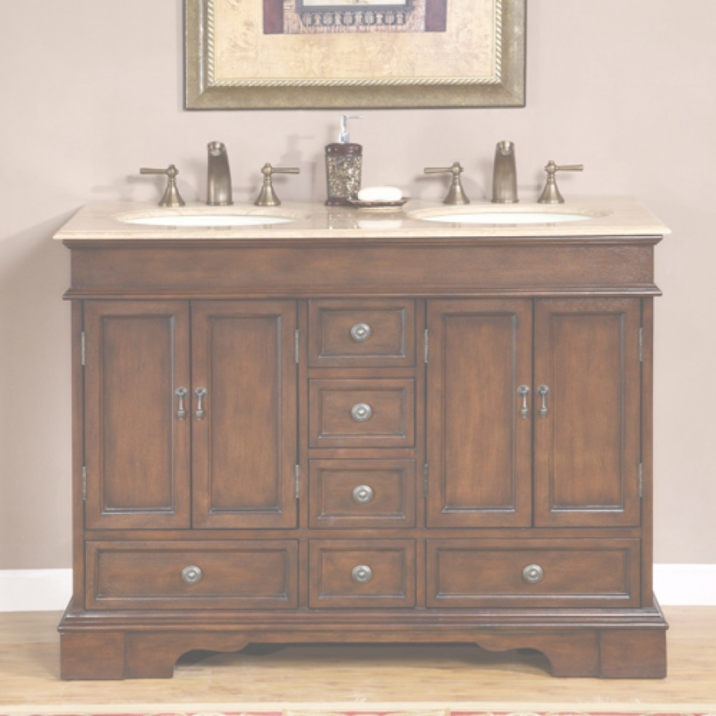 Lovely Bathroom: 55 Inch Double Sink Bathroom Vanity | 84 Inch Bathroom throughout Lovely 48 Inch Bathroom Vanity Without Top