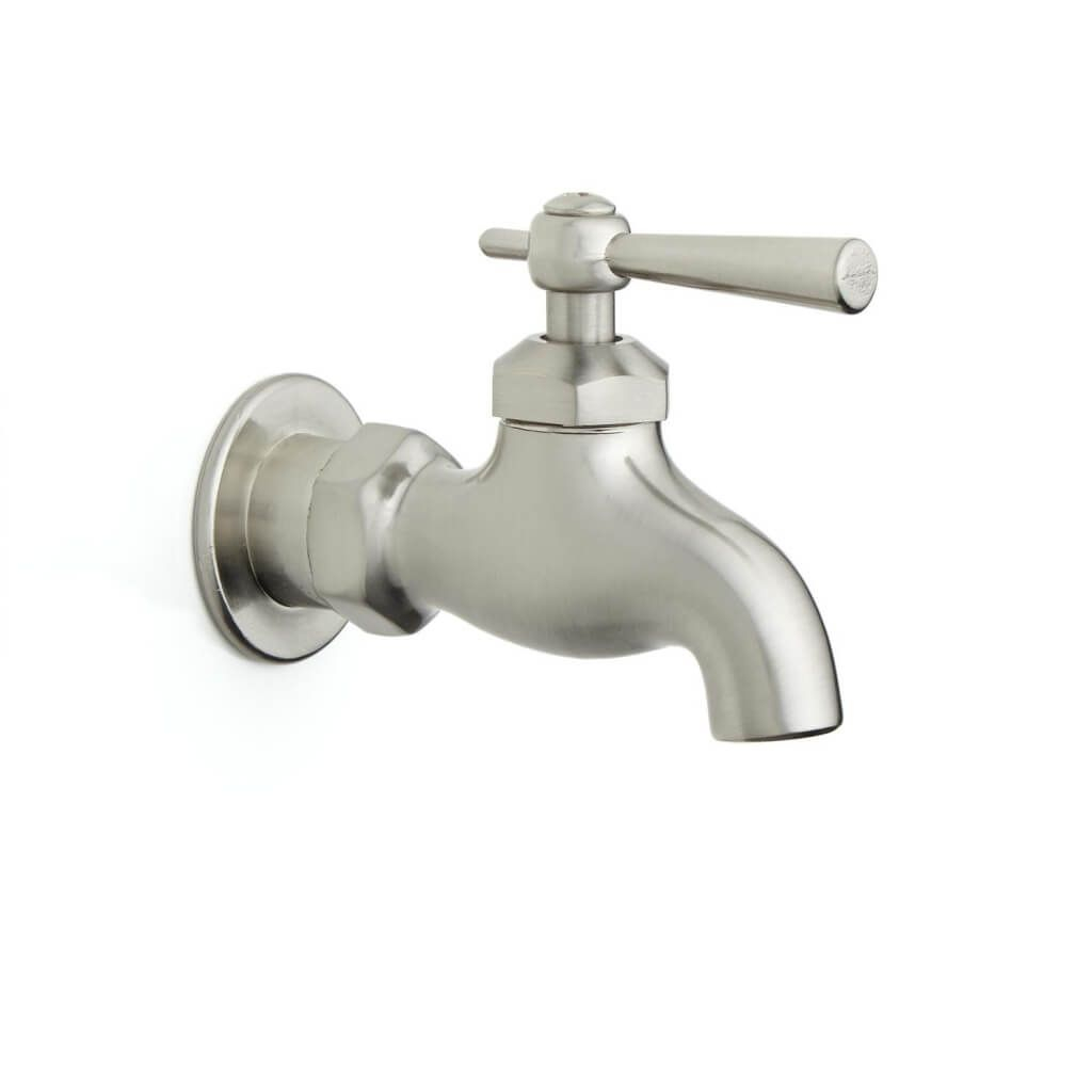 Lovely Bathroom: Brushed Nickel Single Control Wall Mounted Bathroom Faucet with regard to Best of Wall Mounted Bathroom Faucets Brushed Nickel