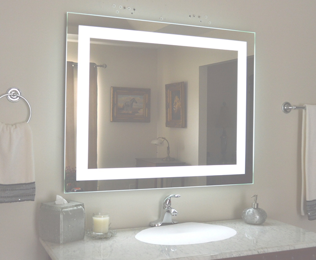 Lovely Bathroom Mirror Built In Light - What Is It? - Action within Awesome Bathroom Mirror With Built In Light