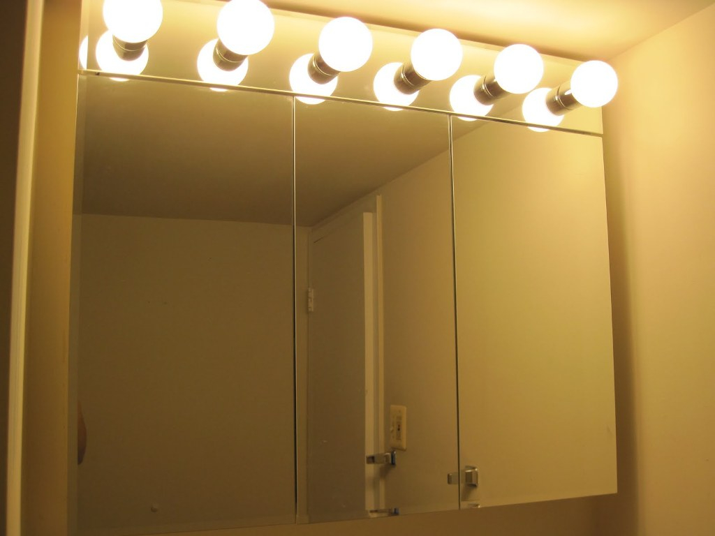 Lovely Bathroom Mirror Light Bulbs | My Web Value regarding Bathroom Vanity Light Bulbs