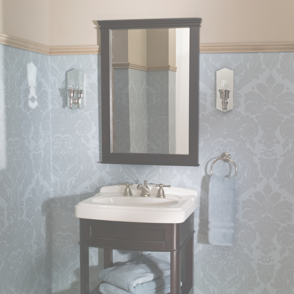 Lovely Bathroom Mirrors - American Standard - American Standard regarding Bathroom Sink Mirror