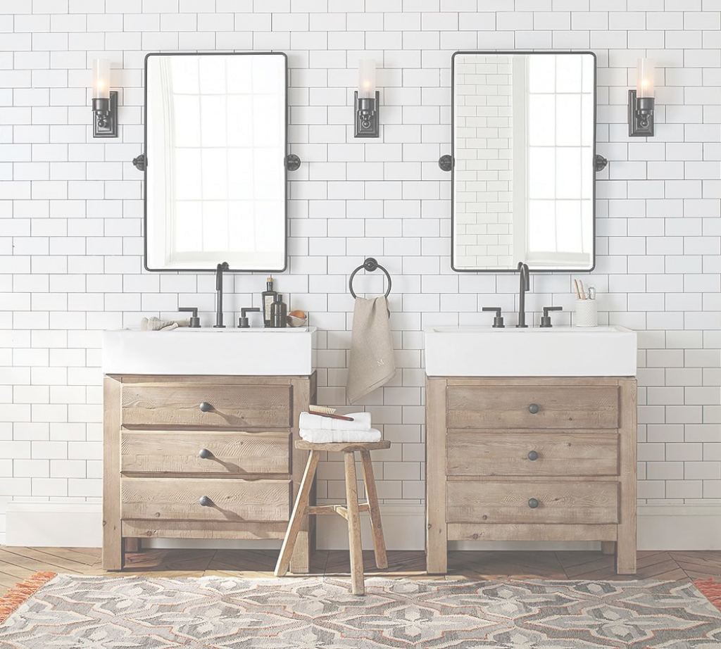 Lovely Bathroom Pivot Mirror Vanity : Top Bathroom - Creative Design Of The inside Review Pivot Mirror Bathroom