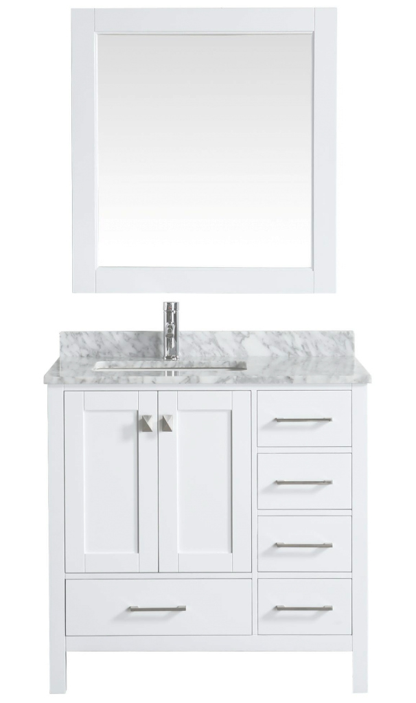 Lovely Bathroom Vanity : Double Sink Vanity Top Bathroom Vanities With Tops in Lovely White Bathroom Vanity With Top