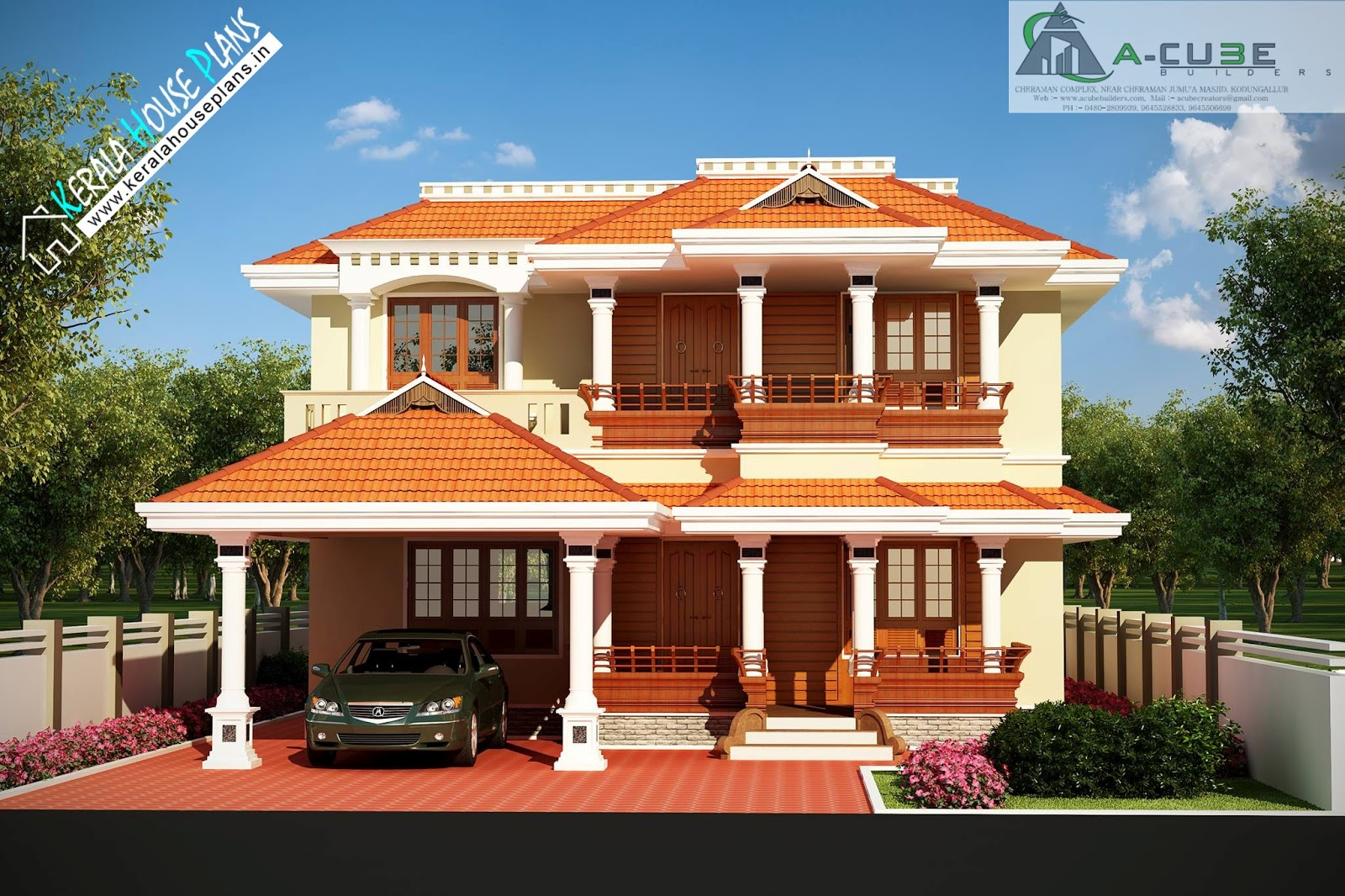 Lovely Beautiful Kerala Traditional House Design | Kerala House Plans intended for Inspirational Kerala Traditional House Plans With Photos