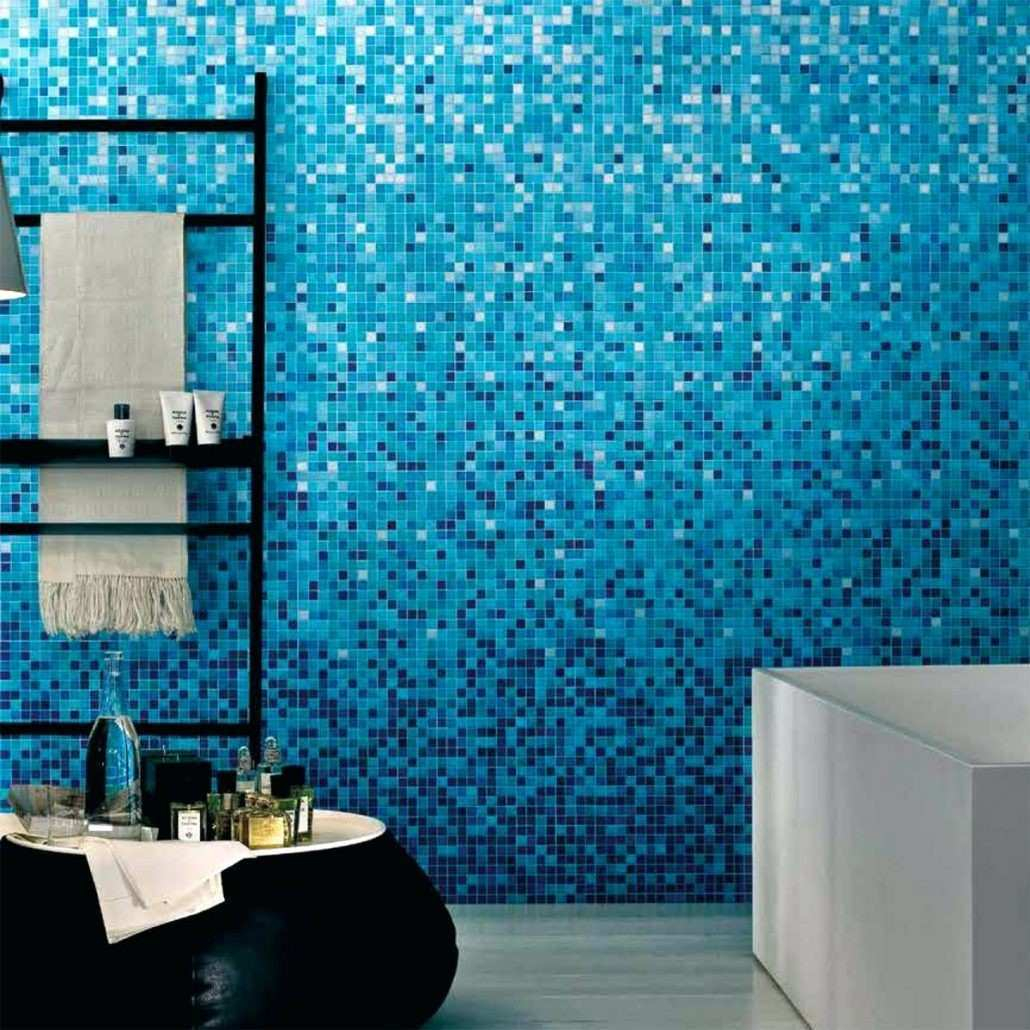 Lovely Blue Mosaic Tile Bathroom Inspirational Tiles Aqua Blue Glass Tiles regarding Blue Glass Tile Bathroom