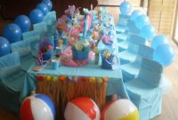 Lovely Breathtaking Beach Theme Table Decor 43 Party Decorations Ideas For within Beach Theme Party Decorations