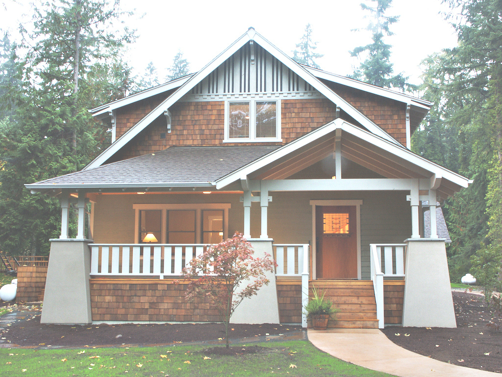 Lovely Bungalow Style Homes Craftsman Bungalow House Plans Arts And - Luxamcc with regard to What Is A Bungalow Style Home