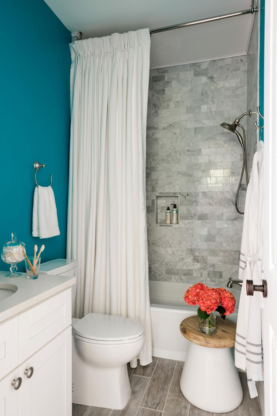 Lovely Color Ideas For Bathroom - The Boring White Tiles Of Yesterday Have in Bathroom Ideas Colors