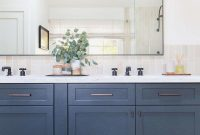Lovely Compromise Navy Blue Bathroom Vanity Wonderful Home Designs Cabinet intended for High Quality Blue Bathroom Vanity Cabinet