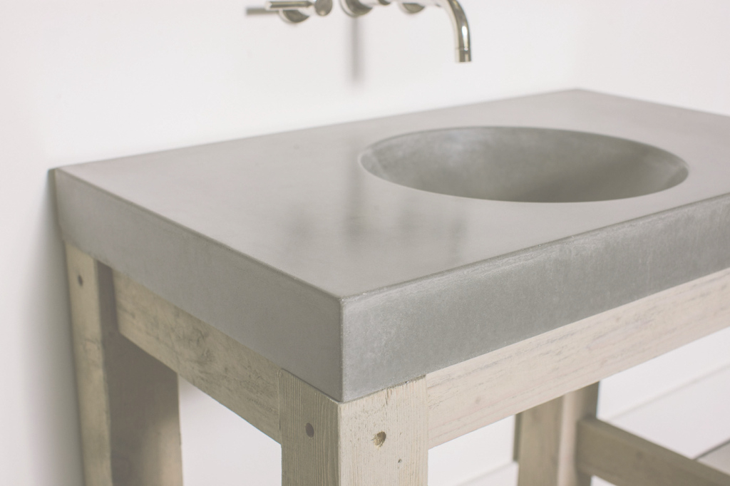 Lovely Concrete Bathroom Sink With 14 Reasons To Use Countertops In Your in Unique Bathroom Sinks And Countertops