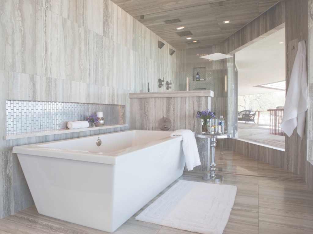 Lovely Contemporary Bathrooms: Pictures, Ideas & Tips From Hgtv | Hgtv inside Bathrooms Ideas
