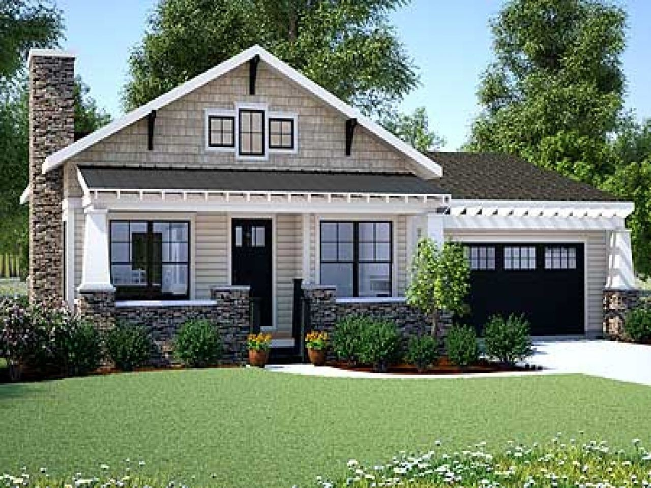 Lovely Craftsman Home Plans Awesome Bungalow House Style Luxury Small One for Bungalow House Style