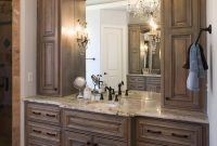 Lovely Custom Bathroom Vanity Cabinets Wall : Top Bathroom – Simple Custom for Custom Bathroom Cabinets