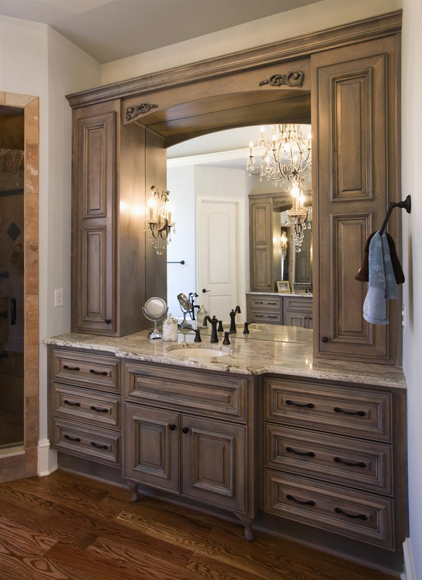 Lovely Custom Bathroom Vanity Cabinets Wall : Top Bathroom - Simple Custom for Custom Bathroom Cabinets