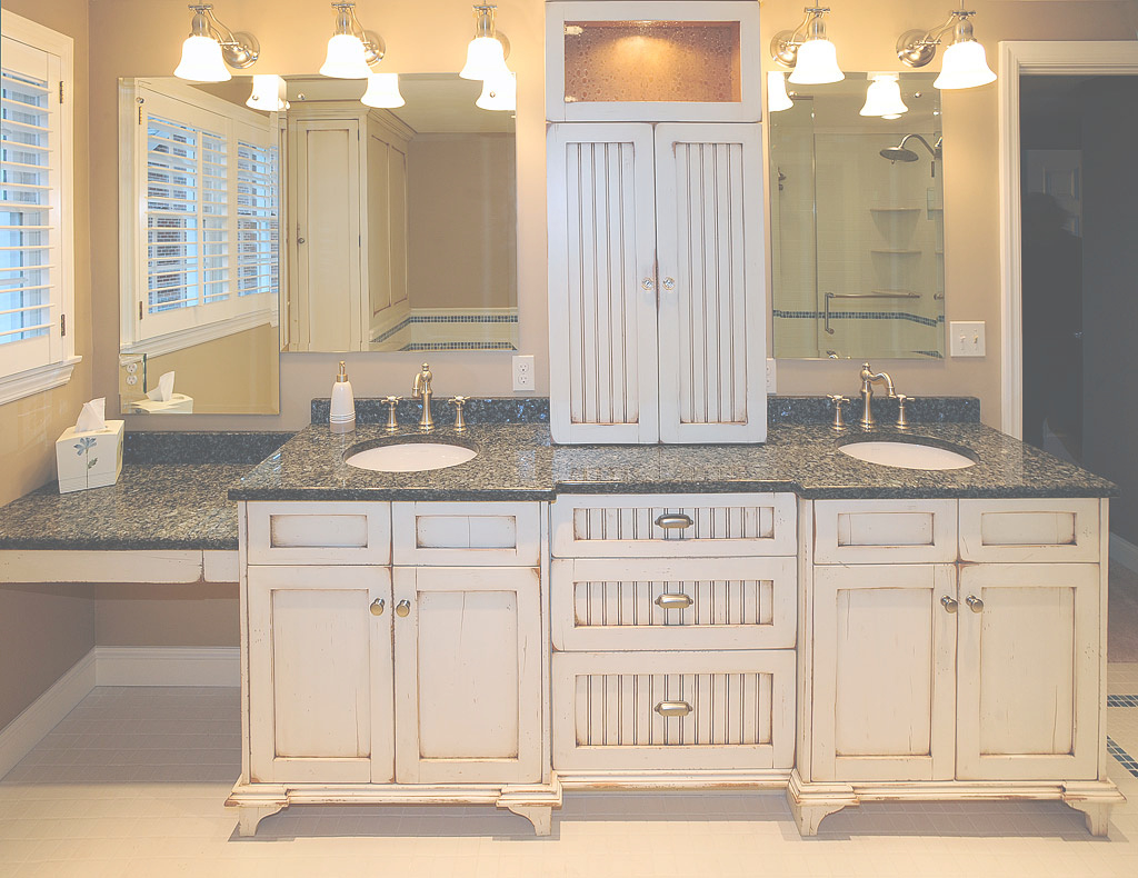 Lovely Custom Bathroom Vanity Cabinets Wood : Top Bathroom - Simple Custom throughout Custom Bathroom Vanity Cabinets