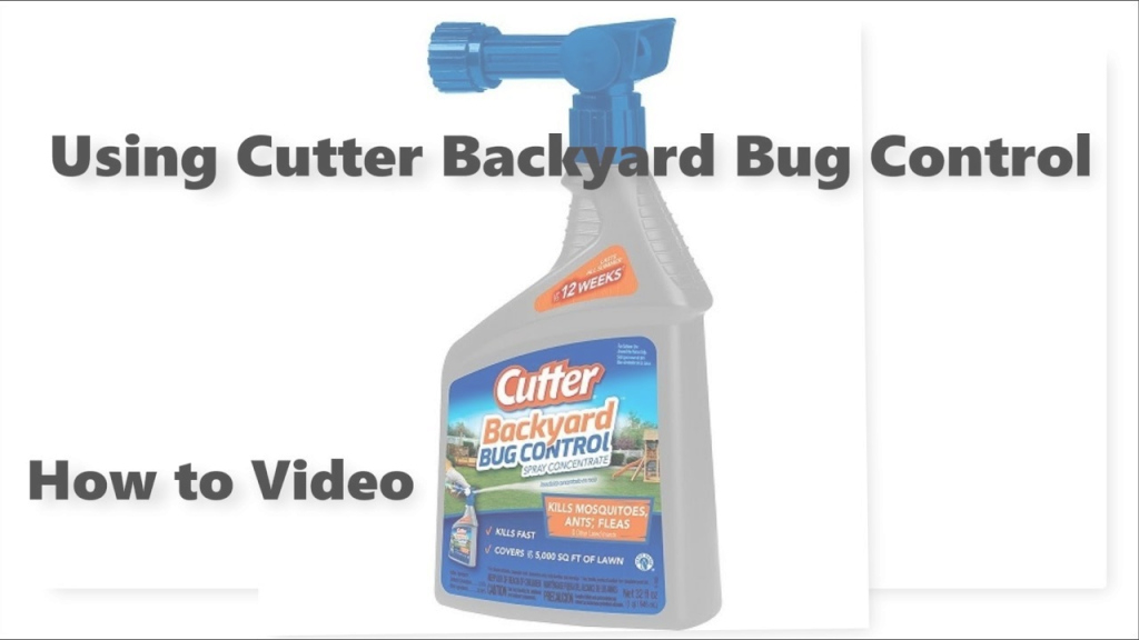 Lovely Cutter Backyard Bug Control Spray - Youtube pertaining to Lovely Cutter Backyard Bug Control Directions